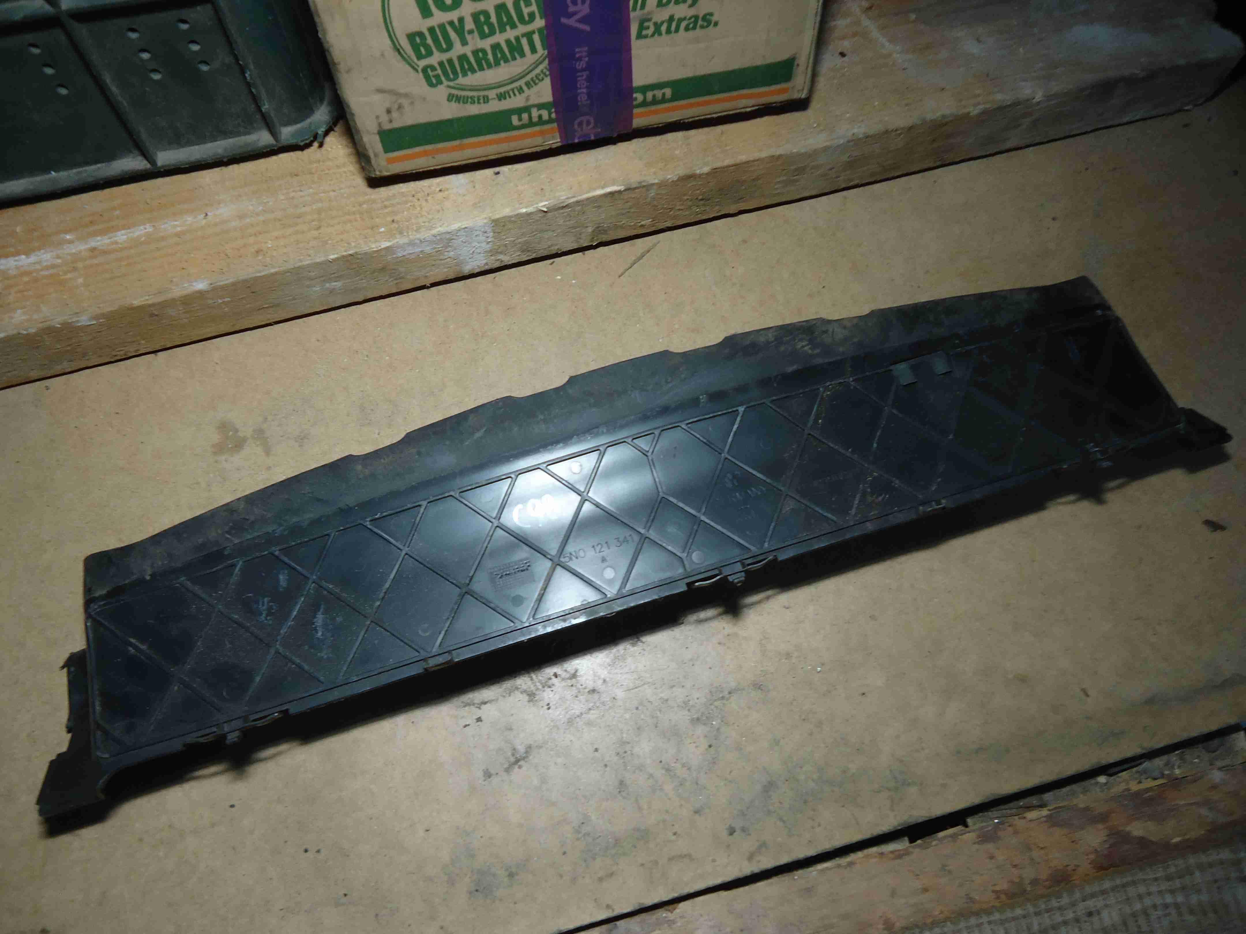 Воздуховод радиатора   5N0121341A